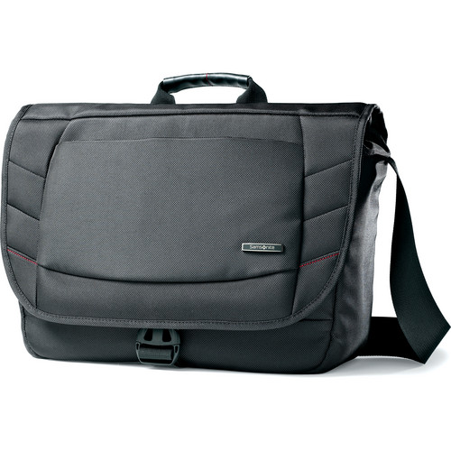 "Samsonite Xenon 2 Messenger Bag with 15.6"" Laptop Pocket (Black)"
