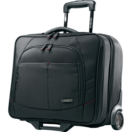 "Samsonite Xenon 2 Mobile Office Rolling Case with 13-15.6"" Laptop Pocket (Black)"