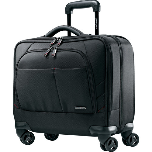 "Samsonite Xenon 2 Spinner Mobile Office with 15.6"" Laptop Compartment (Black)"