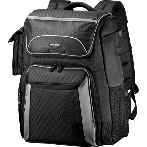 Samsonite Backpack Camera Bag (Black/Gray)