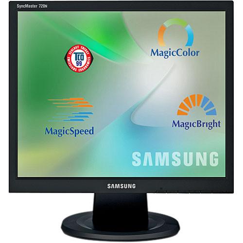 """Samsung SyncMaster 720N 17"""" LCD Computer Monitor - VGA"""