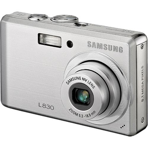 Samsung L830 Digital Camera (Silver)