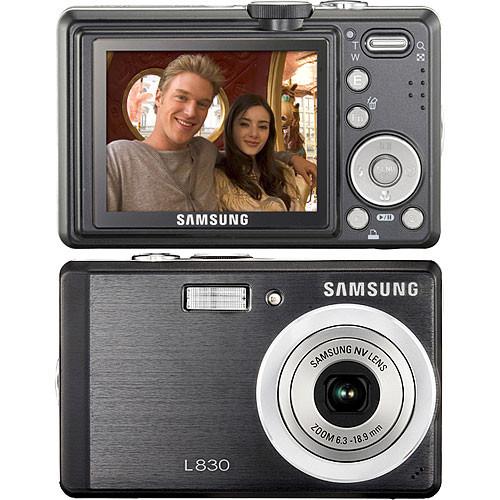 Samsung L830 Digital Camera (Black)