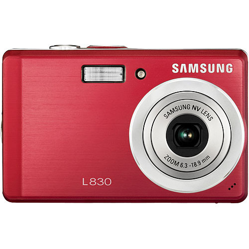 Samsung L830 Digital Camera (Red)