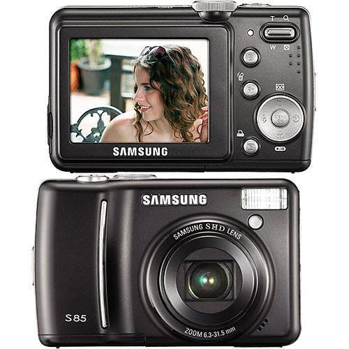 Samsung S85 Digital Camera (Black)