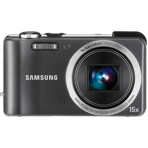 Samsung HZ35W 12 MP Digital Point and Shoot Camera (Gray)