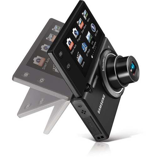 Samsung MV800 MultiView Digital Camera (Black)