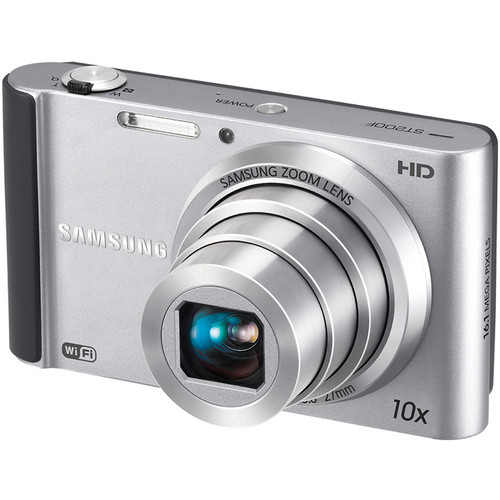 Samsung ST200F SMART Long Zoom Digital Camera (Silver)