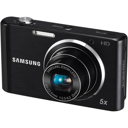 Samsung ST76 Compact Digital Camera (Black)