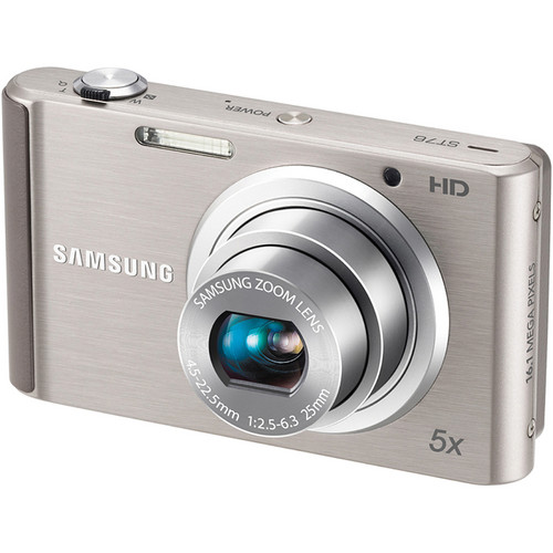 Samsung ST76 Compact Digital Camera (Silver)