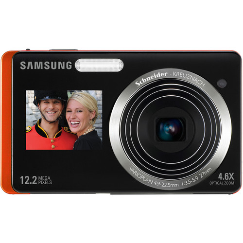 Samsung DualView TL225 Digital Camera (Orange)