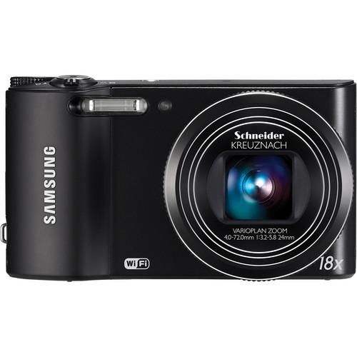 Samsung WB150F SMART Long Zoom Digital Camera (Black)