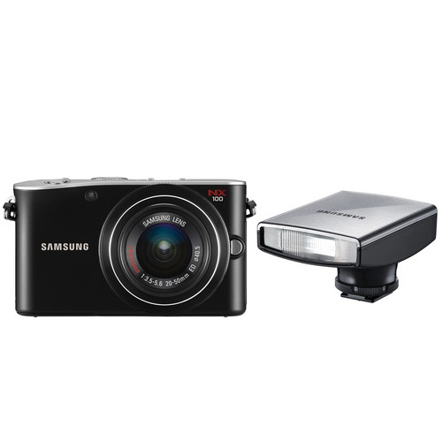 Samsung NX100 14.6 Megapixel Interchangeable Lens Digital Camera