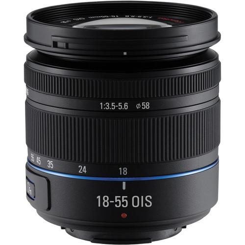 Samsung 18-55mm f/3.5-5.6 OIS Compact Zoom Lens (Black)