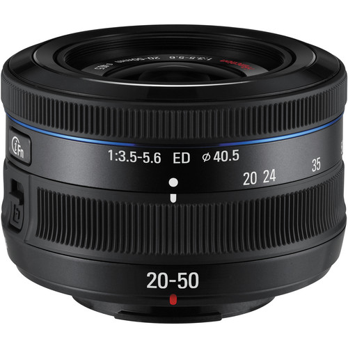 Samsung 20-50mm f/3.5-5.6 ED II Lens - Black