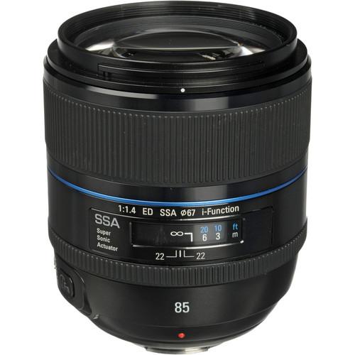 Samsung 85mm f/1.4 ED SSA Lens