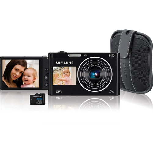 Samsung DV300F Digital Camera Kit (Black)