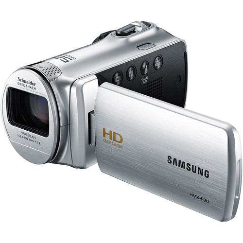 Samsung HMX-F80 Flash Memory Camcorder (Silver)