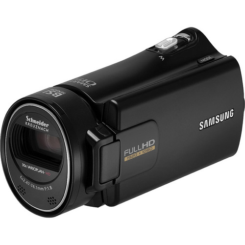 Samsung HMX-H304 Full HD 16GB Camcorder (Black)