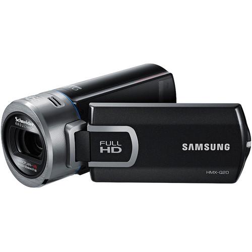 Samsung HMX-Q20 HD Flash Camcorder (Black)