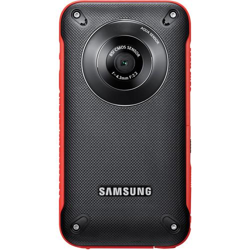 Samsung HMX-W300 Pocket Camcorder (Red)
