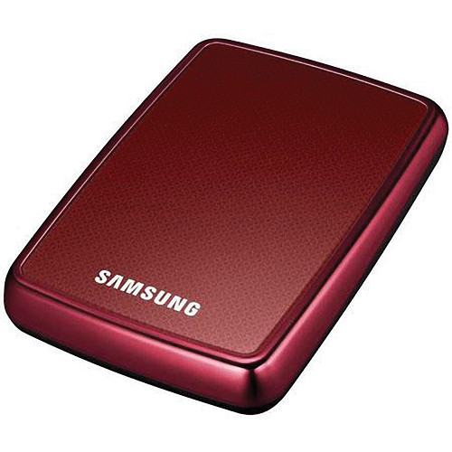 Samsung S2 1TB Ultra Portable Hard Disk Drive (Red)