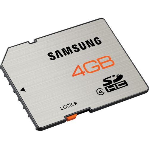 Samsung 4GB SDHC Memory Card High Speed Series Class 4