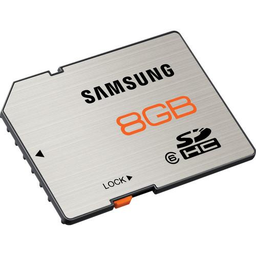 Samsung 8GB SDHC Memory Card High Speed Series Class 6