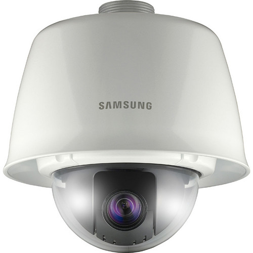 Samsung Techwin 600 TVL True Day/Night PTZ Dome Camera with 3.6 to 44.3mm Varifocal Lens (Weatherproof & Vandal-Resistant)