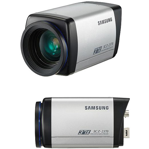 Samsung SCZ-2370 High-Resolution Analog Camera with 37x Zoom Lens (NTSC)