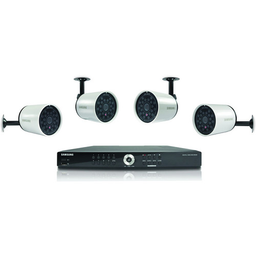 Samsung SDE-4004 8-Channel DVR Security System