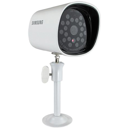 Samsung SEB-1006R Weatherproof Night Vision Camera with a Built-In Microphone
