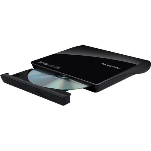 Samsung SE-208AB Slim External DVD-Writer USB2 (Black)