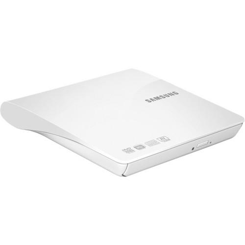 Samsung SE-208DB/TSWS Slim Portable DVD Writer (White)