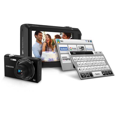 Samsung SH100 Digital Camera (Black)
