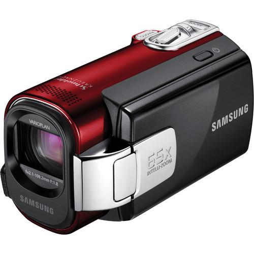 Samsung SMX-F44 Digital Memory Camcorder (Red)