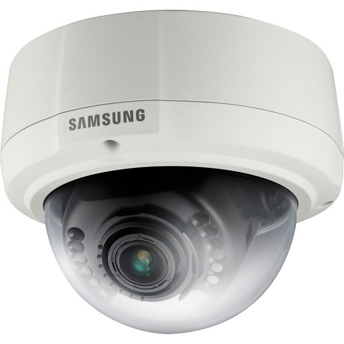 Samsung Techwin SNV-1080 VGA Vandal-Resistant Network Dome Camera