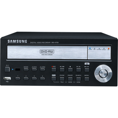 Samsung SRD-470D-1TB 4-Channel DVR with DVD R/W (1TB)