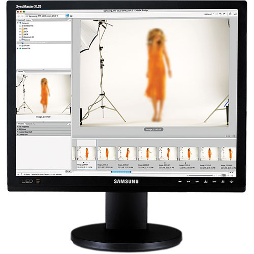 "Samsung SyncMaster XL20 20"" LED Backlit LCD Computer Display"