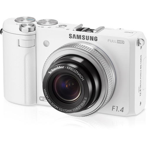 Samsung EX2F Digital Camera (White)