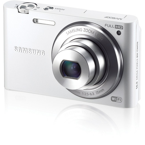 Samsung MV900F MultiView Digital Camera (White)