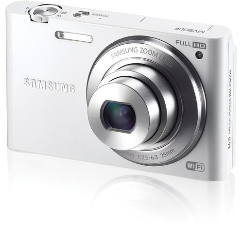 Samsung MV900F MultiView Digital Camera (White)