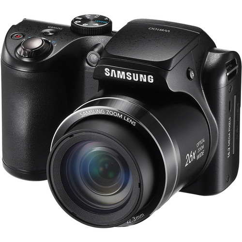 Samsung WB100 Digital Camera (Black)