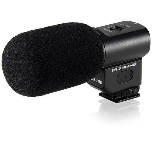 Samsung EM10 Hot Shoe Microphone for Samsung NX20/210/1000/300 Cameras