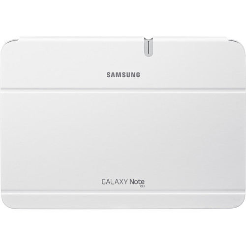 Samsung Galaxy Note 10.1 Book Cover (White)