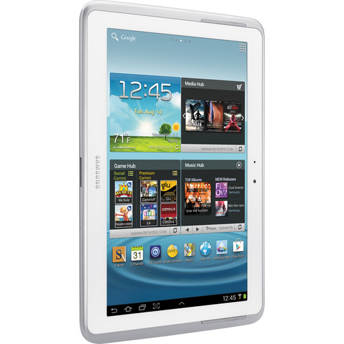 "Samsung 16GB Galaxy Note 10.1"" Tablet (White)"