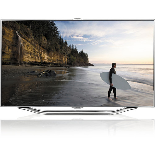 "Samsung UA-55ES8000 55"" Series 8 Smart Multi-System 3D LED TV"