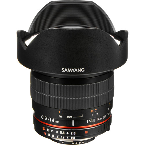 Samyang 14mm f/2.8 ED AS IF UMC Lens for Nikon F