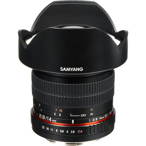 Samyang 14mm Ultra Wide-Angle f/2.8 IF ED UMC Lens for Canon EF Mount