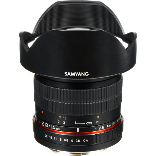 Samyang 14mm Ultra Wide-Angle f/2.8 IF ED UMC Lens for Four Thirds Mount